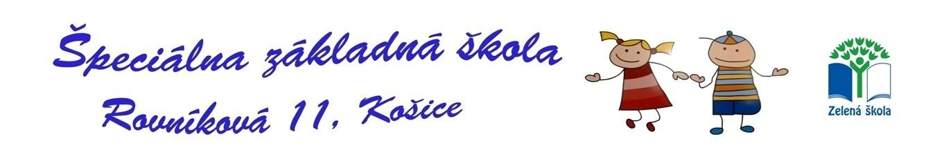 logo Špeciálna základná škola Rovníková 11