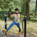 ŠKD cvičí vo Fitparku